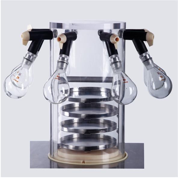 实验室冷冻干燥机压盖型CTFD-10T 冷冻干燥机 第4张