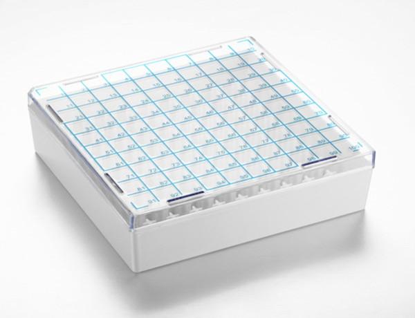 100孔塑料凍存盒.jpg 供應低溫不鏽鋼凍存架及凍存盒 低溫凍存架 第5張